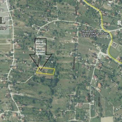 Građevinsko zemljište : Dugo Selo, Martin breg Z-1029