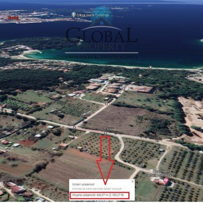 Zemljište, Rovinj, Monsena 550 m2. Prodaja